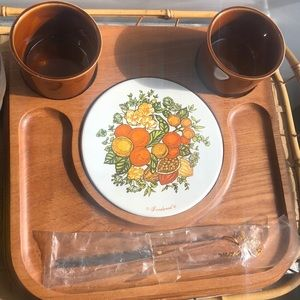 Vintage Goodwood cheese tray